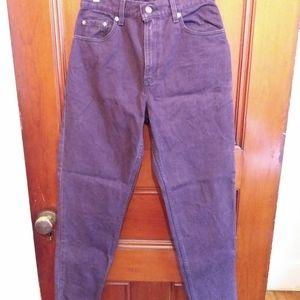 Vintage Levi's 550 Purple Jeans